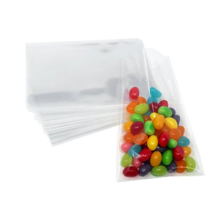 Clear Plastic Cellophane Candy Bags 4 1 2 Inch X 3