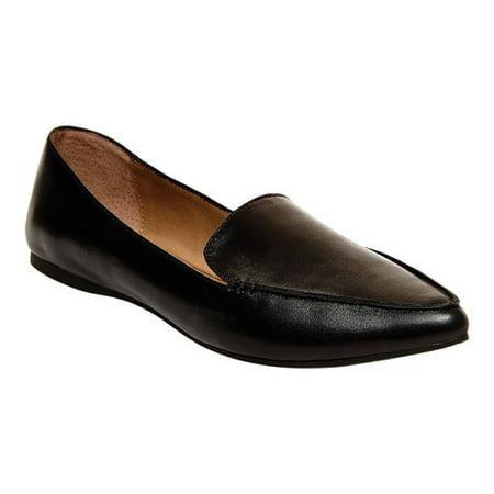 Steve Madden Feather Loafer Flat (Women's) Womens Manteca 2 Shoe