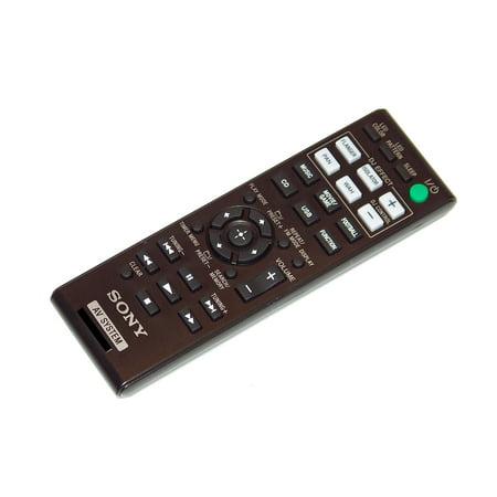 OEM Sony Remote Control: LBTGPX555, LBT-GPX555, MHCV5, MHC-V5, SHAKE33, SHAKE55