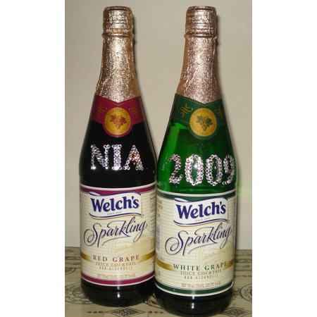 12 PACKS : Welch's Sparkling Juice Cocktail White Grape Non-Alcoholic