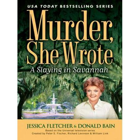 Murder, She Wrote: A Slaying in Savannah - eBook