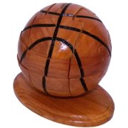 Basketball 3d Wooden Puzzle Sports With Trivia Cards