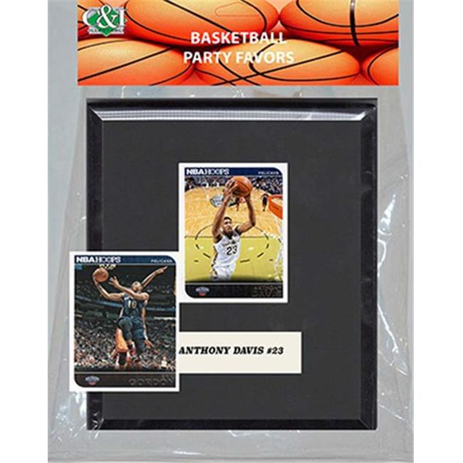 Candlcollectables 67LBPELICANS NBA New Orleans Pelicans Party Favor With 6 x 7 Mat and Frame