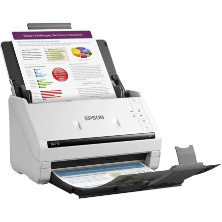 Epson Workforce Ds 770 Color Document Scanner
