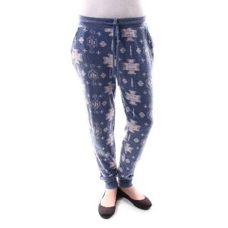 bd052fe7 Celebrity Pink - CELEBRITY PINK Womens Blue Printed Lounge Pants Juniors  Size: S - Walmart.com