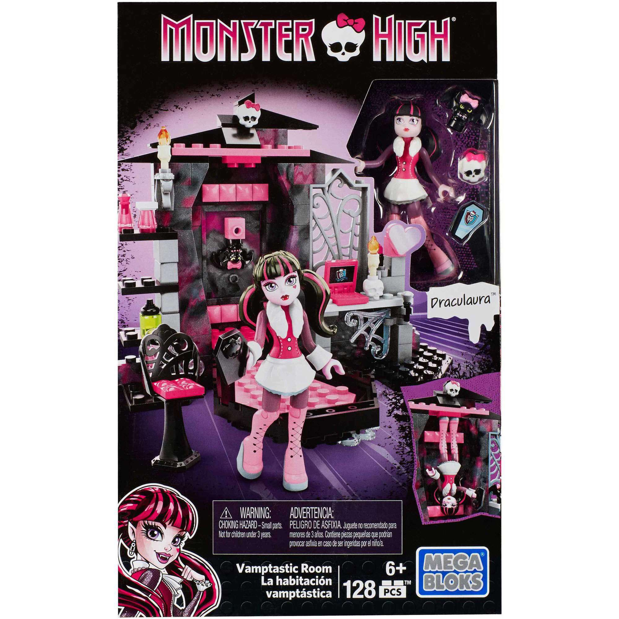 Mega Bloks Monster High Draculaura Vamptastic Room by Generic