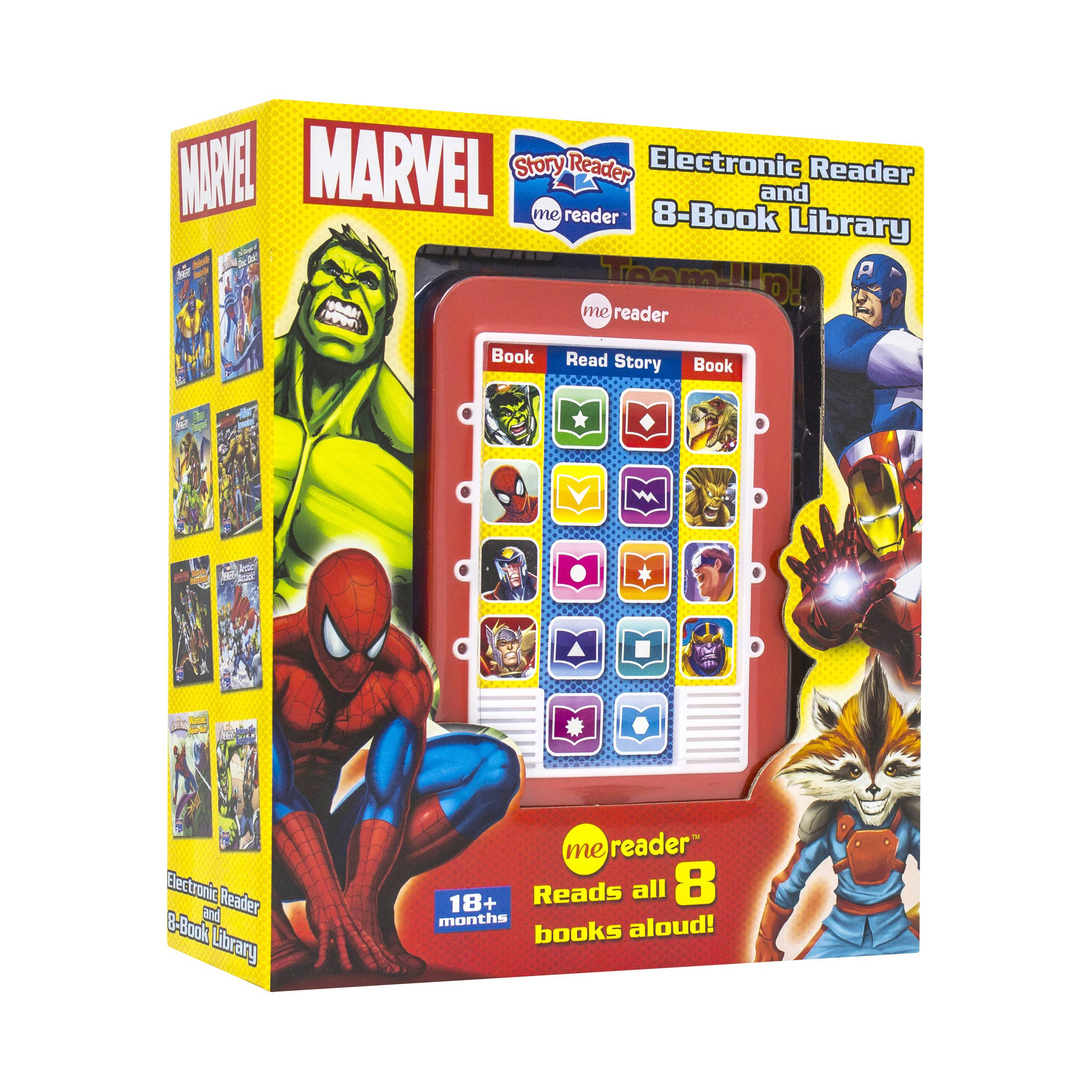 Marvel Me Reader Electronic and 8 Book Box Set