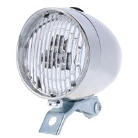 matoen Classic LED Vintage Bike Headlight Bicycle Retro Head Light Front Fog Lamp