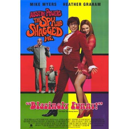 Austin Powers 2: The Spy Who Shagged Me (1999) 11x17 Movie Poster - The Belmont Austin Halloween