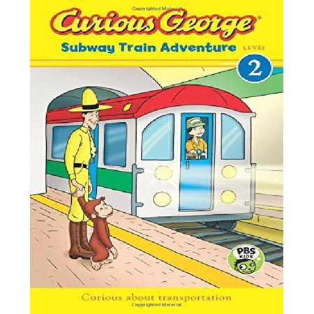 Curious George Subway Train Adventure  Cgtv Reader