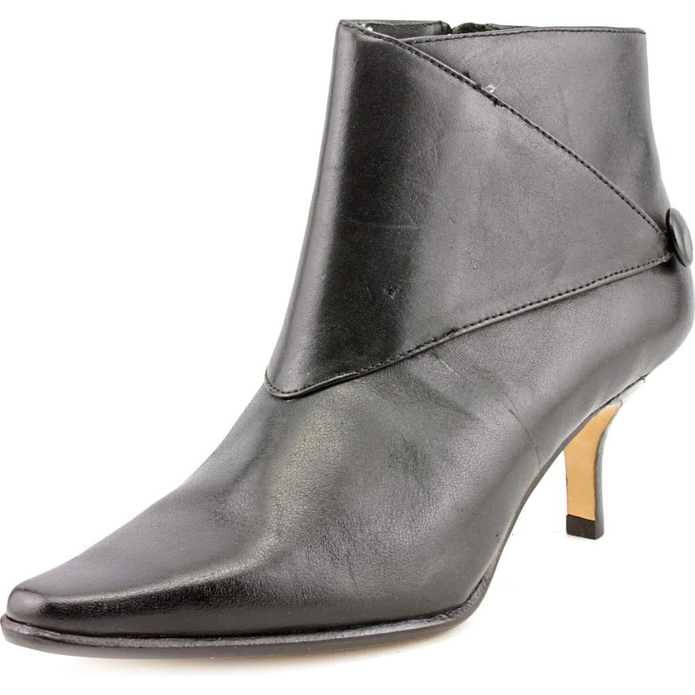 Donald J Pliner Loli Pointed Toe Leather Bootie by Donald J Pliner