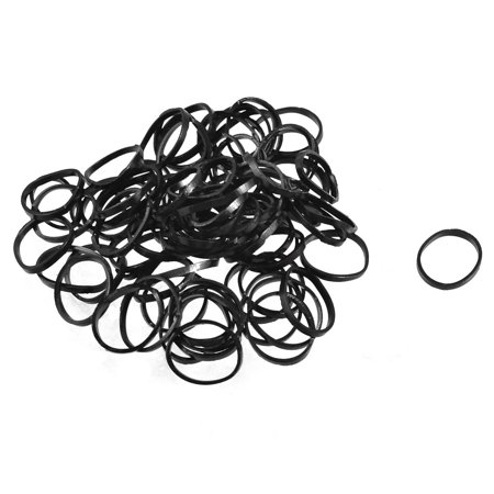 Unique Bargains 2 Bags Stretchy Hair Ties Bands Ponytail Braid Holder  Elastics Black - Walmart.com 69d9467bb04