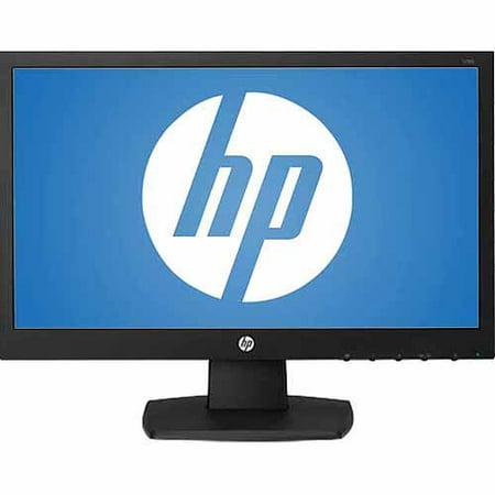 """HP 18.5"""" LED-Backlit Monitor (V193 Black)"""
