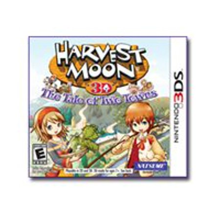 harvest moon: tale of two towns - nintendo 3ds (Harvest Moon Friends Of Mineral Town Codebreaker)