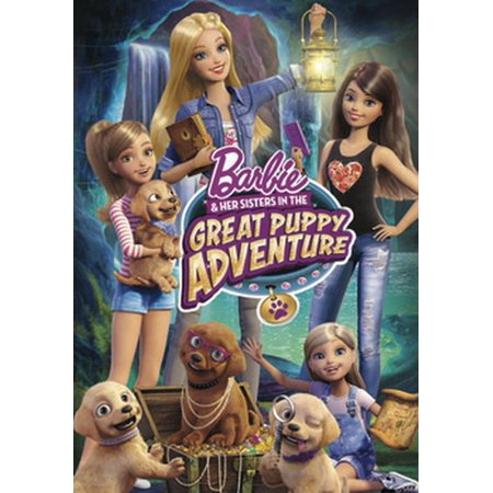 Barbie & Her Sisters in the Great Puppy Adventure (Barbie And The Diamond Castle Part 1)