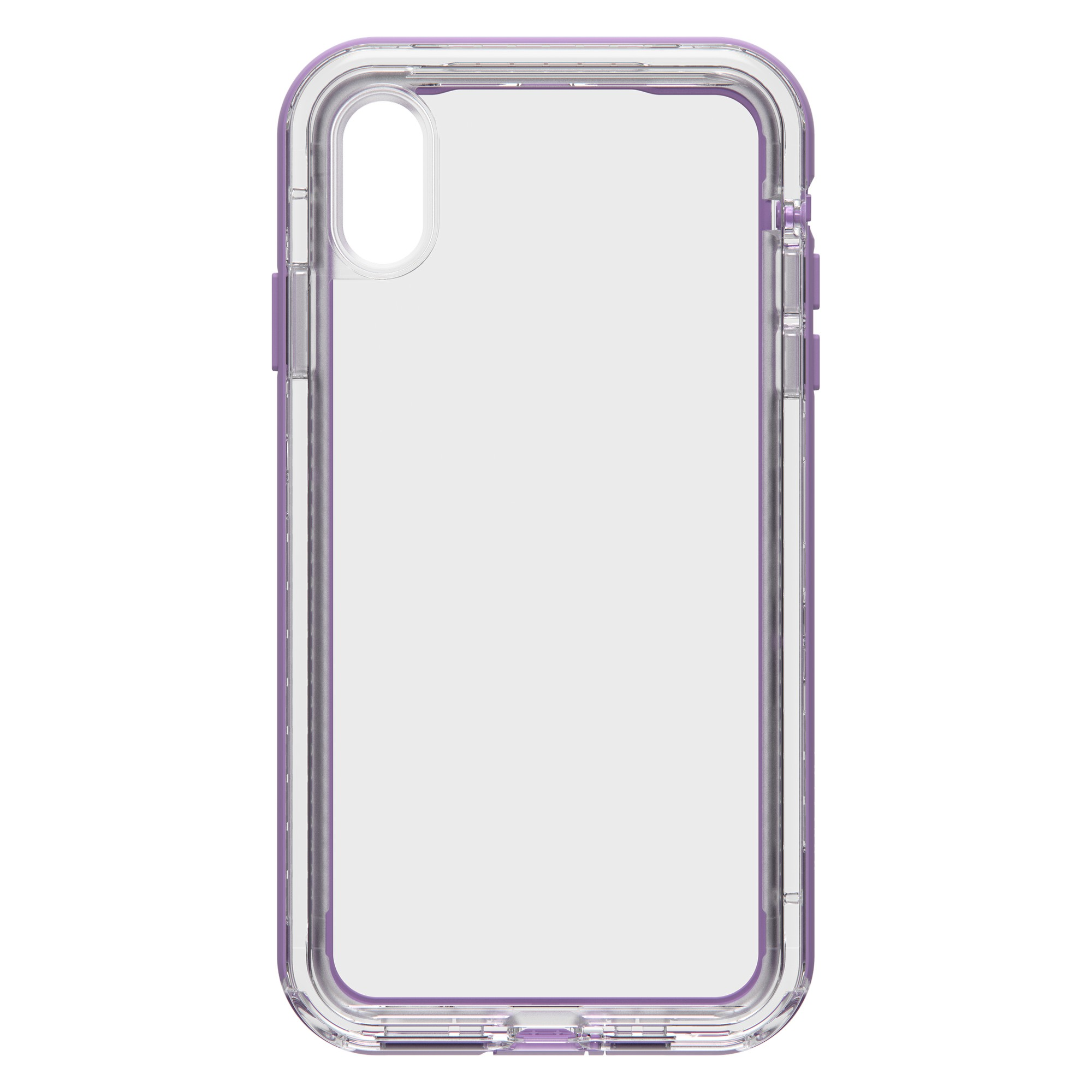new concept f4ce4 8b046 LifeProof iPhone Xs Max Clear/Purple (Ultra) Next case - 77-60165