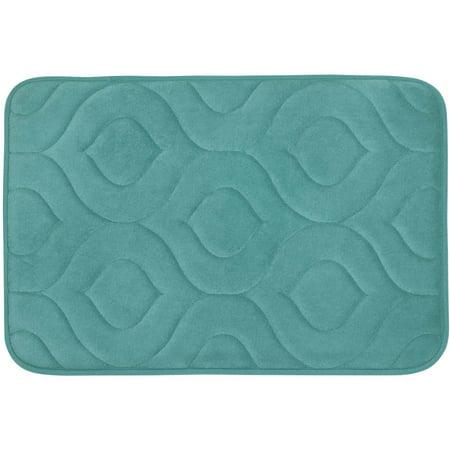 34f6f3bbb89 Bounce Comfort Naoli Microplush Memory Foam Bath Mat - Walmart.com