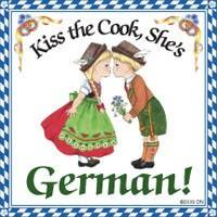 German Gift Idea Magnet (Kiss German Cook)](German Outfit Ideas)