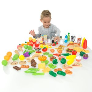 KidKraft Deluxe Tasty Treats Pretend Play Food