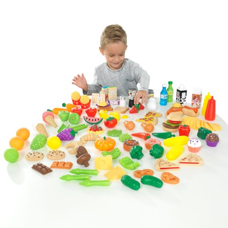(KidKraft Deluxe Tasty Treats Pretend Play Food)