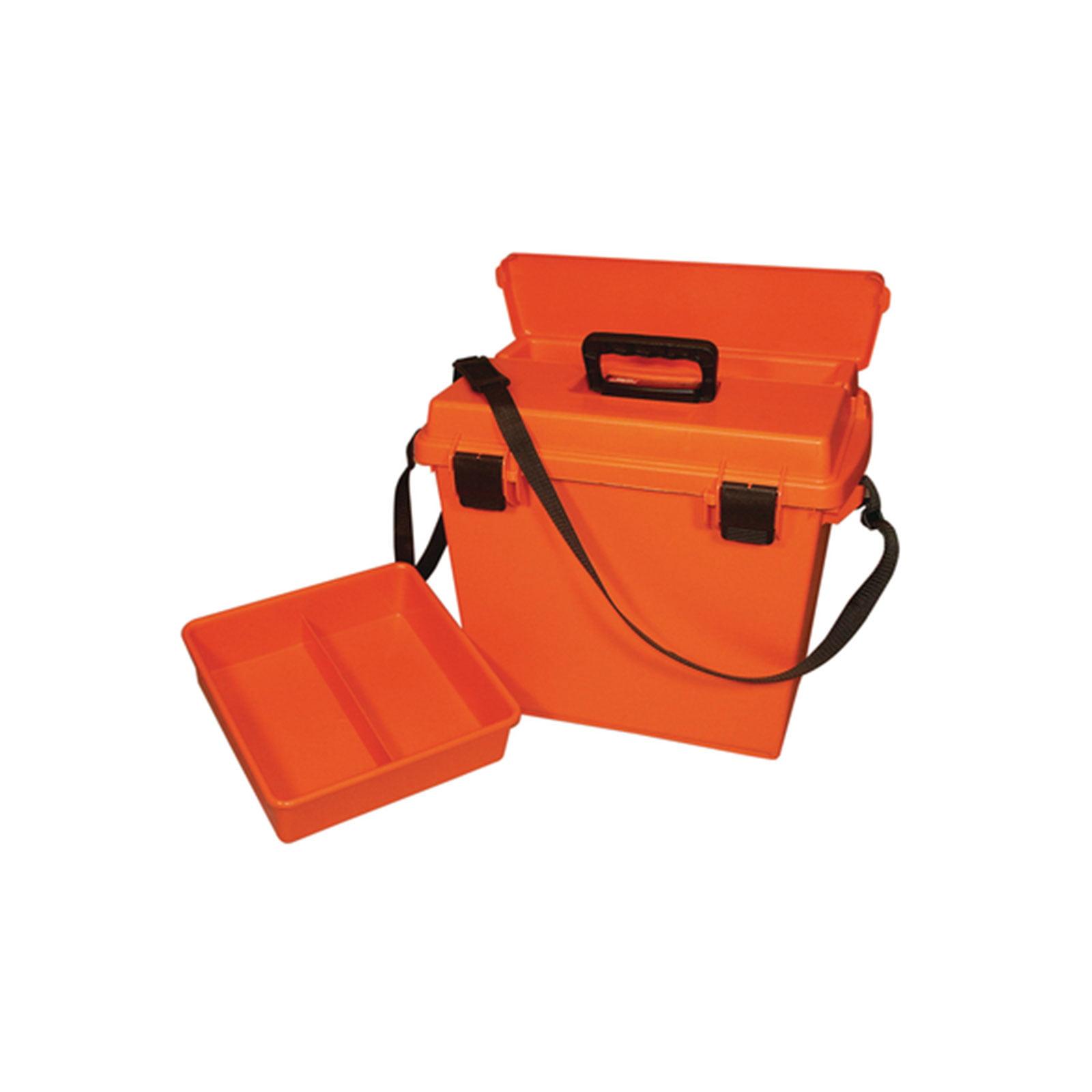 "MTM Sportsman Plus Utility Dry Box 18"" x 13"" x 15"" Orange, SPUD7-35"