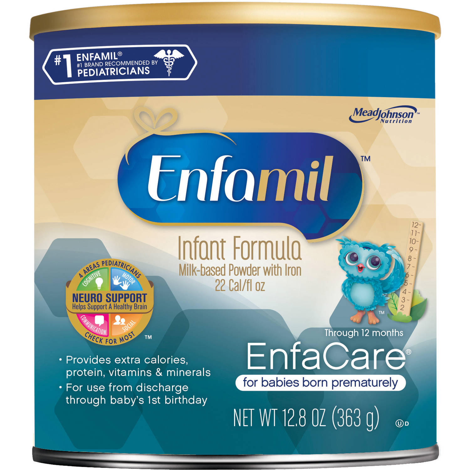 Enfamil EnfaCare baby formula - 12.8 oz Powder Can