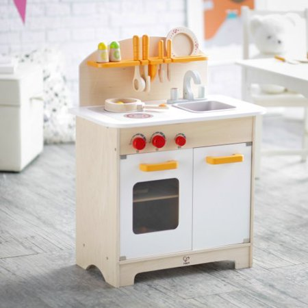 Hape White Gourmet Chef Kitchen With Accessories