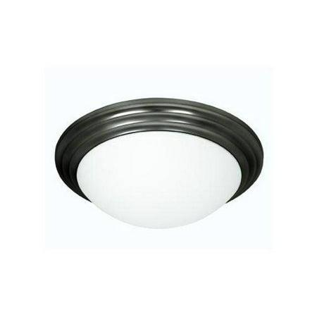 - Strata 3-Light Flush Mount