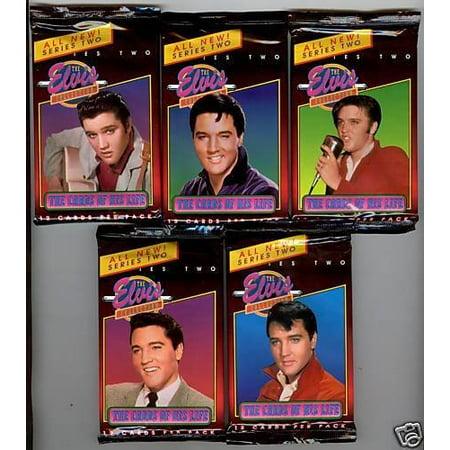 Elvis Presley 1 Unopened Individual Trading Card Pack, 1 Pack of 12 Elvis Presley Trading Cards By THE RTIVER -