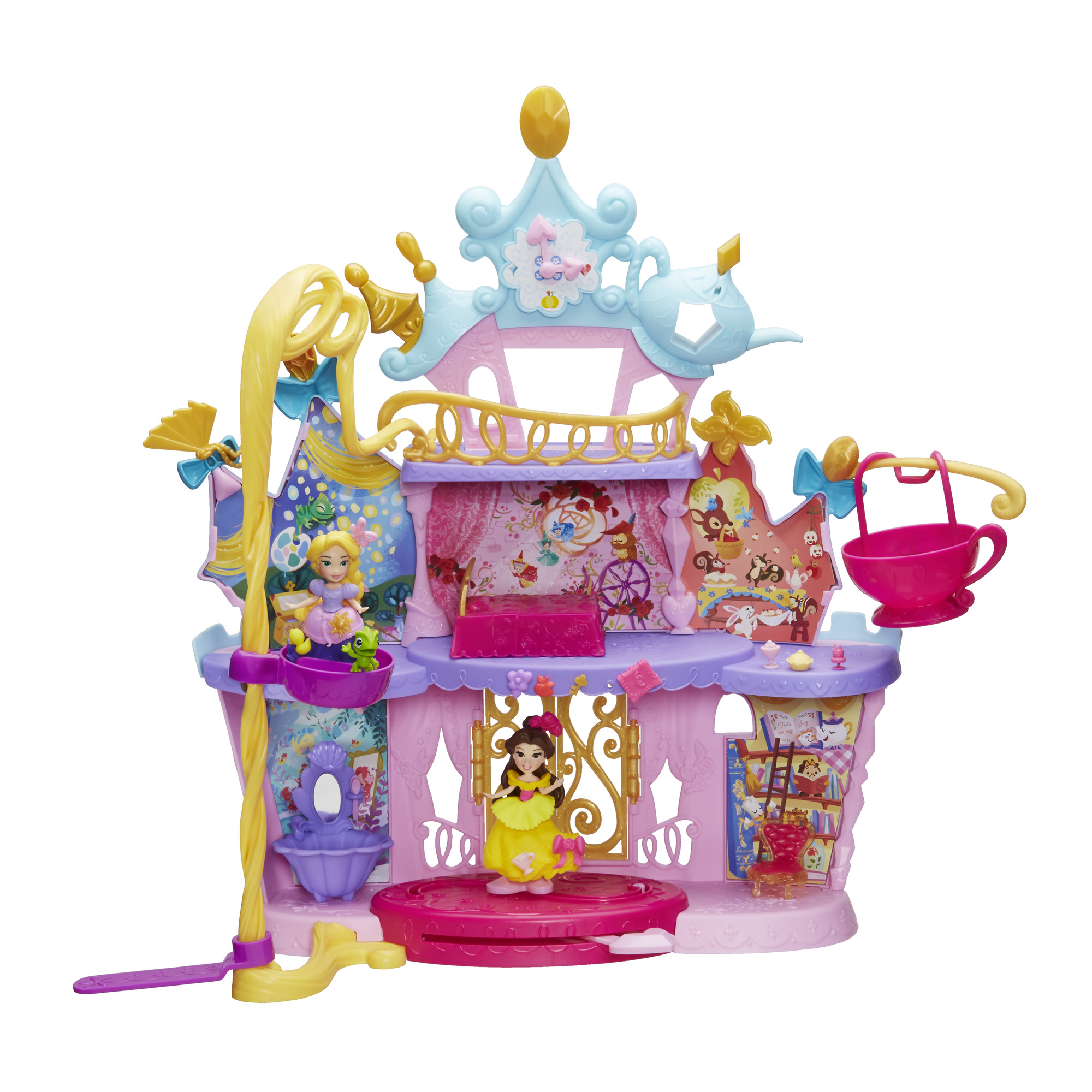 Disney Princess Little Kingdom Musical Moments Castle by Hasbro