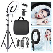 """14"""" 180pcs LED Ring Light Dimmable 5500K Lighting Video Continuous Light Stand Kit for Camera iPhone"""