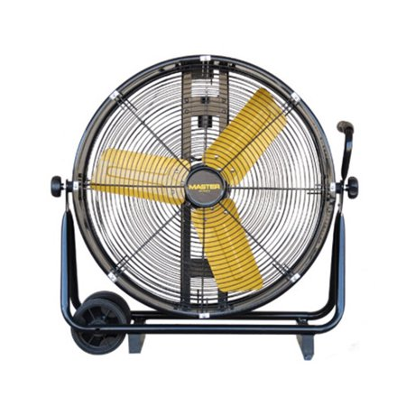 Master MAC-24-DDF-B 24 in. Direct Drive Fan Carted Fan Direct Drive Barrel Fan