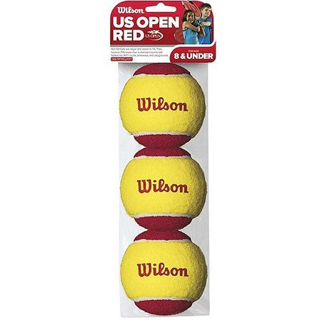 - Wilson US Open Starter Tennis Balls, 3 ct