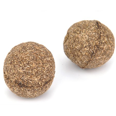 Cheers 1Pc Natural Catnip Healthy Funny Treats Ball Pet Kitten Cat Playing Relaxing Toy - image 5 of 7