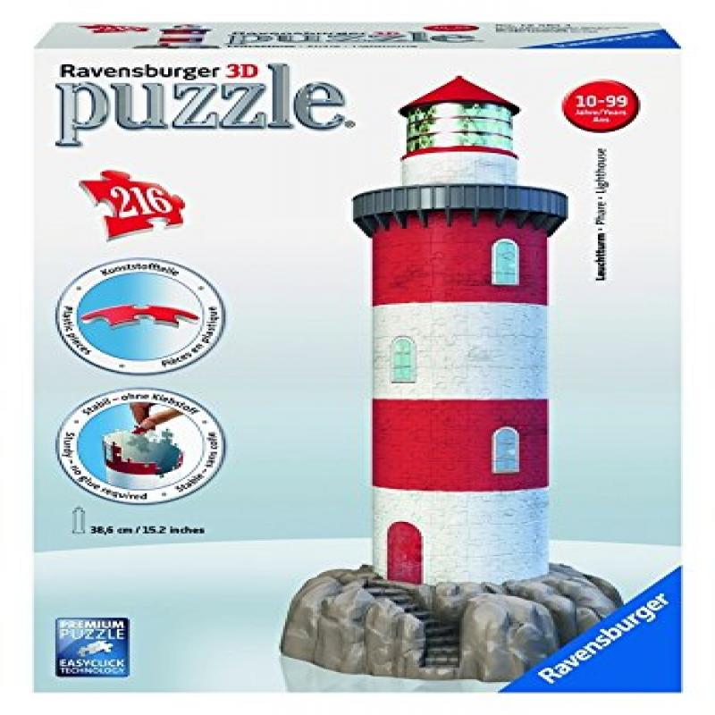 Ravensburger Coastal Lighthouse 3D Puzzle (216-Piece) by