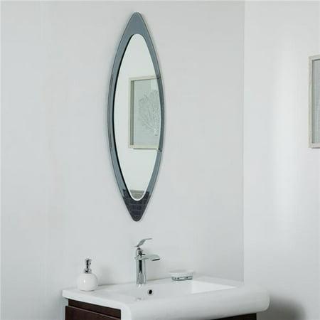 Decor Wonderland Ssm9001 13 75 X 39 5 In Cat Eye Frameless Wall Mirror Walmart Canada