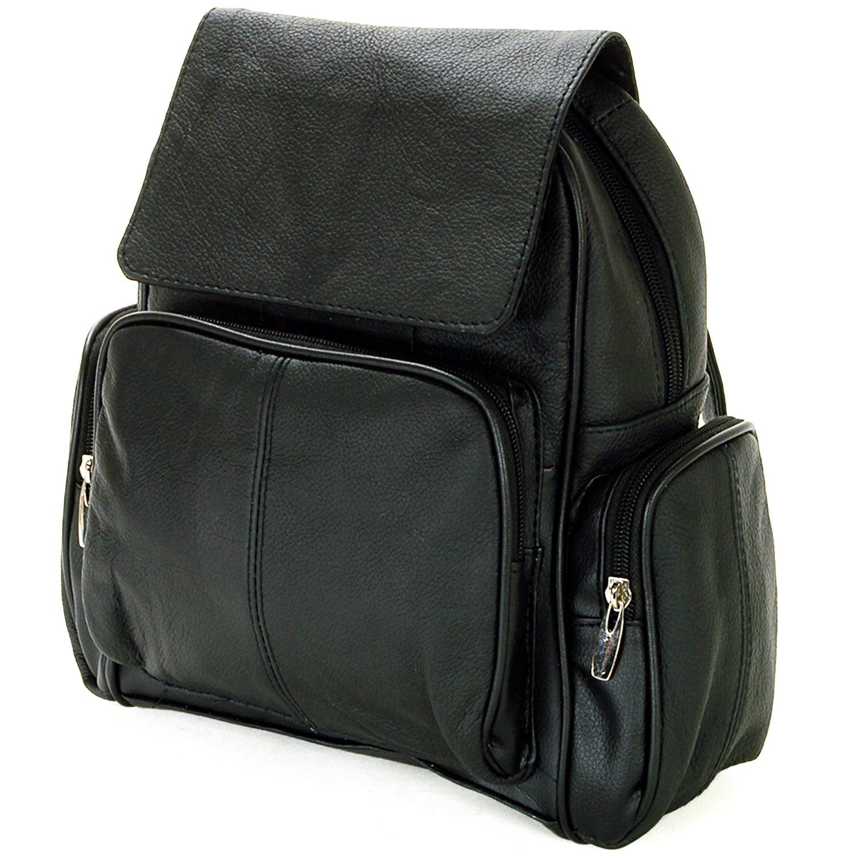 823699dedb6b Small Black Leather Backpack Handbag- Fenix Toulouse Handball