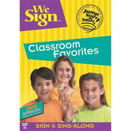 Harris Communications Dvd283 We Sign Classroom Favorites Dvd