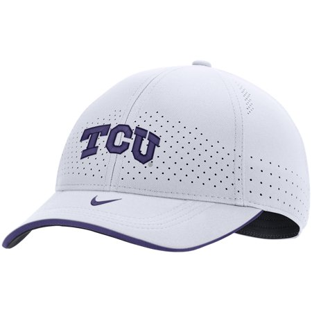 TCU Horned Frogs Nike Sideline Classic 99 Performance Flex Hat - White