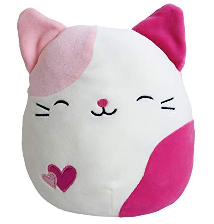 "Squishmallow 8"" Pink Cat"