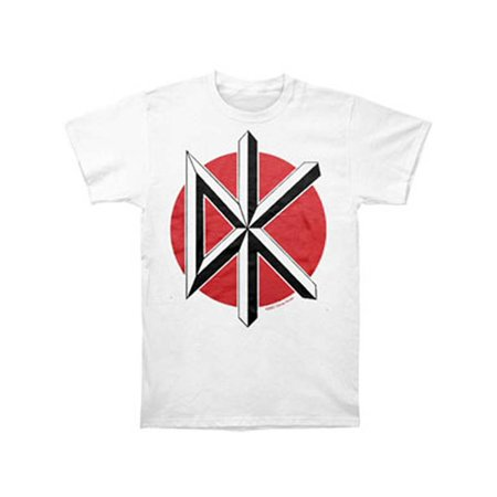 Dead Kennedys Men's  Jumbo Logo White T-shirt White (The Dead Kennedys Halloween)
