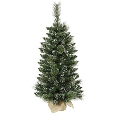 Vickerman 3' Snow Tipped Mixed Pine and Berry Christmas Tree Unlit - image 1 of 1