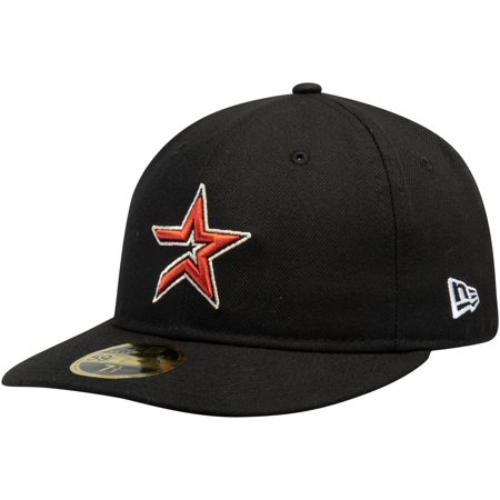 Houston Astros New Era Cooperstown Collection Fan Retro 59FIFTY Fitted Hat  - Black - Walmart.com 90f39df148e7