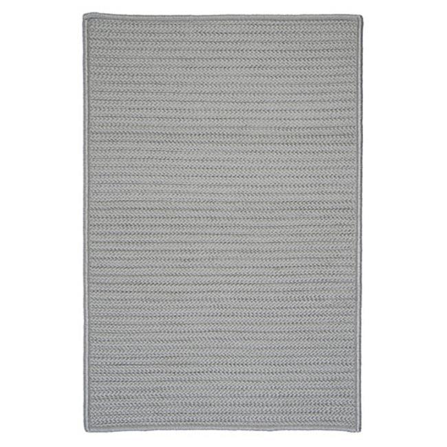 Colonial Mills Simply Home Gray Solid Shadow Indoor/Outdoor Area Rug