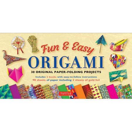 Fun Easy Halloween Games For Adults (Fun & Easy Origami Kit : 30 Original Paper-folding Projects: Includes Origami Kit with 2 Instruction Books & 98 High-Quality Origami)
