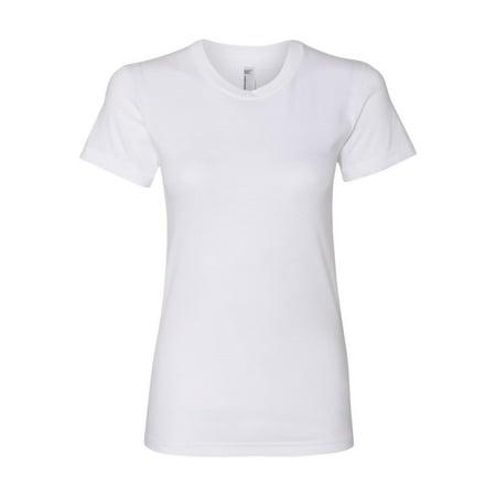 2001US American Apparel T-Shirts Fine Jersey T-Shirt -