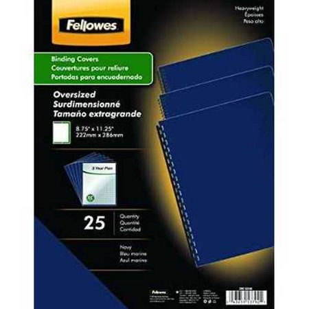 Futura Premium Heavyweight Presentation Covers; Oversize; Navy; 25 Pack (5224801)