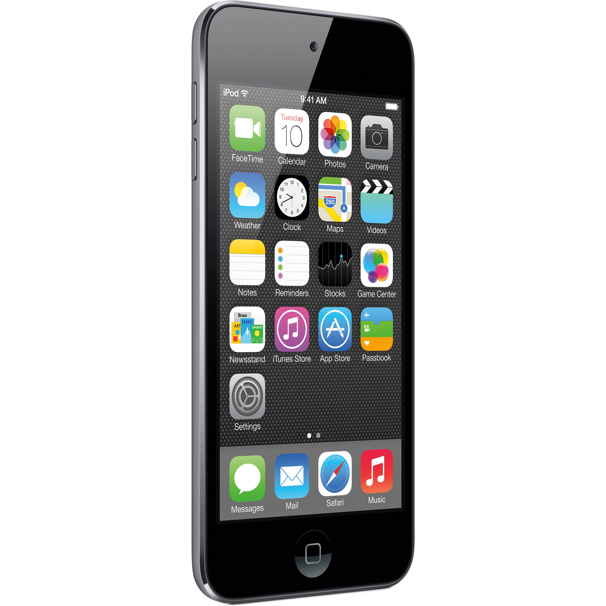 Refurbished Apple iPod Touch 5th Generation 16GB Space Gray MGG82LL/A
