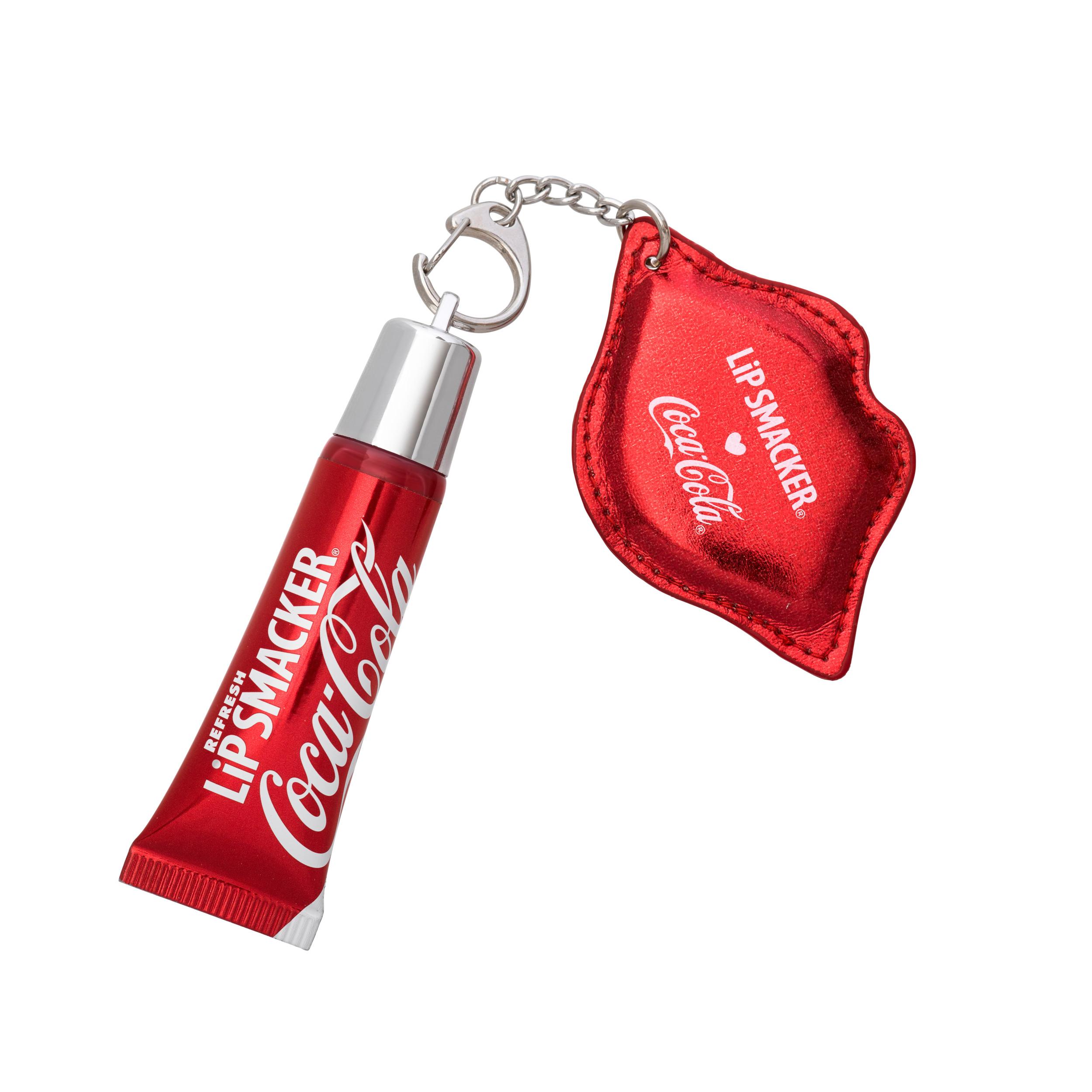 (2 Pack) Lip Smacker Coca-Cola Refresh Lip Gloss with Keychain