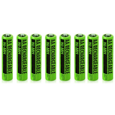 NiMh AA Batteries 8-Pack for Uniden NiMh AA Batteries 2-Pack for Uniden Phones BT-211AR / NiMH AA Batteries (8-Pack)